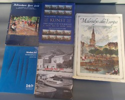 Német művészeti könyvek 5db