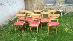 8 Db.kávéházi thonet szék