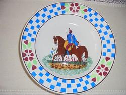 Wilhelmsburgi huszáros tányér