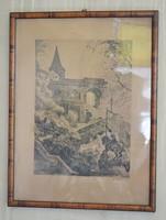 Zádor István grafika 1925
