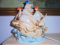 Hangulatos retro porcelán lámpa