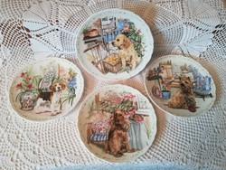 Royal Albert  (Mans best friend collection 1,2,3,4) Tányérok