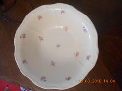 Régi Zsolnay porcelán barokk, köretes / főzelékes / salátás tál