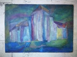 Kopócsy Judit festménye