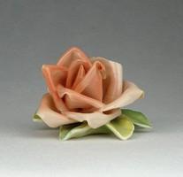 0R124 Régi rózsaszín ENS porcelán rózsa