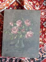 Csendélet rózsával