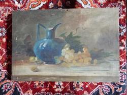 Csendélet szőlővel olajfestmény