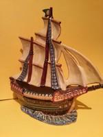 Olasz kerámia hajó