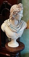 Nagy Sándort ábrázoló szobor büszk