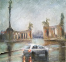 Esős Budapest // Rainy Budapest