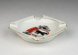 0R474 Régi kézifestett porcelán hamutál