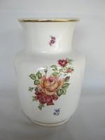 Gránit kerámia rózsás váza
