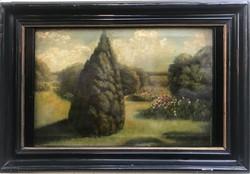 Szinyei Merse Pál - Parkrészlet 1875