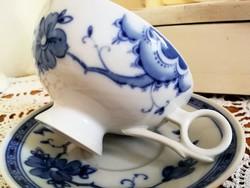 Különleges formájú Echt Kobalt teás szett