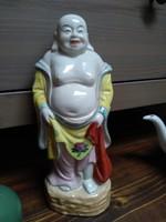 Kínai porcelán buddha szobor