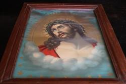 Krisztus és Mária - 2 db .