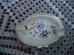 Zsolnay búzavirág mintás hamutartó