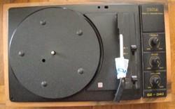 TESLA GE040 erősítős lemezjátszó retro