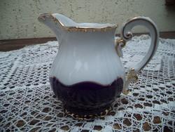 Tejszin kiöntő zsolnay pompadour teás készlethet