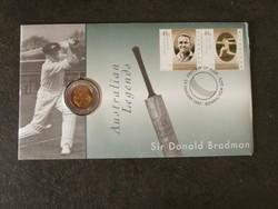 Ausztrália 5 Dollar - Sir Donald Bradman