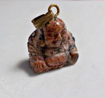 Rodonit kőből készült buddha medál