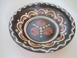 Kerámia fali tányér - mély (d:16 cm)
