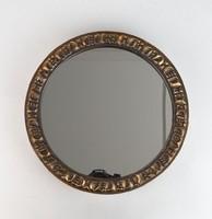 0R040 Réz iparművészeti tükör falitükör