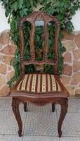 Antik faragott szék párban szólóban