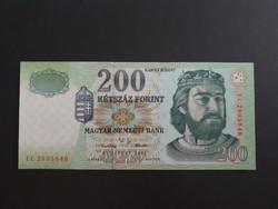 200 Forint 2001 FC  UNC