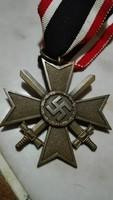 Német KVK kereszt (eredetiségre örökös garancia)
