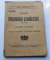 Gyalogsági szabályzat   TERVEZET  ( 1938 )