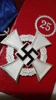 Német szolgálati medál (eredetiségre örökös garancia)
