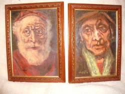 Karakteres portrék