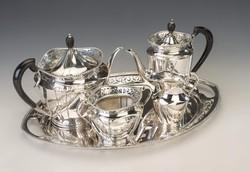 Bachruch Antal teás-/kávéskészlet