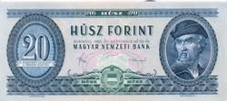 20 Forint 1980 unc