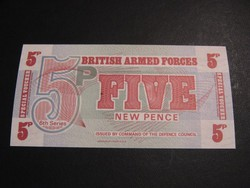 BRITISH ARMED FORCES 5 PENCE UNC    /2/