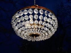 Kosaras  kristálycsillár 40  cm