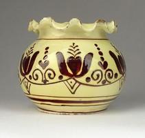 0R655 Kisméretű Korondi kerámia váza