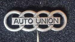 AUTO  UNION kitűző kabáthajtűs, rövid tűvel! Kitűző hossza :20mm