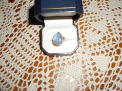Labradorit köves ezüst gyűrű