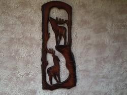 Faragott fali kép