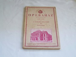 A Magyar királyi operaház évkönyve 1929-1930