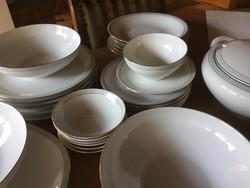 KPM Krister porcelán étkészlet, makulátlan