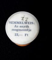 """Semmelweis Ignác """"Az anyák megmentője"""" 1965"""