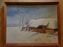 Oltványi József - Elhagyott tanya (1975)