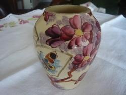 Steidl Znaim fajansz váza