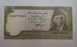 Pakisztán 10 rupees unc.