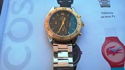 Morita quartz chronograph karóra ritkaság