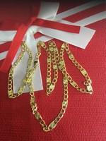 14K arany  nyaklánc hossza 52cm