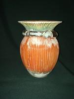 Nagyon ritka Kispest art deco váza 21,5 cm dr. Basch Lipót